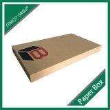 Коробка Corrugated книги пересылая бумажная с изготовленный на заказ логосом