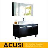 Vanité moderne en gros de salle de bains en bois solide de type d'Ameican (ACS1-W07)