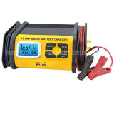 cargador de batería 10A con salida de 2USB 3.4A