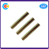 In zwei Durchläufen Kohlenstoffstahl-M6 galvanisierte Hex Pfosten-Befestigungsteile/Stift/Schraube