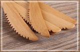 Couteau en bois de couteau en bambou respectueux de l'environnement de vaisselle plate