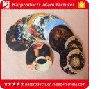 卸売のためのカスタムシリコーンビールマットの印刷のコースター