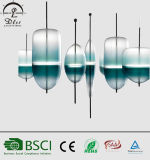 De Italiaanse LEIDENE van het Glas Stype Lamp van de Tegenhanger voor Decoratieve het Hangen van de Zaal Verlichting