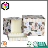 Твердая складная коробка подарка бумаги картона с внутренним печатание