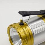 Luz solar del LED picovoltio con el USB