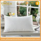 Подушка шеи хлопкового волокна Hyperallergenic, утка вниз Pillows внутренняя