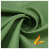 agua de 50d 280t y de la ropa de deportes tela tejida chaqueta al aire libre Viento-Resistente 100% del filamento del poliester del telar jacquar de la armadura abajo (53166A)
