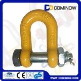 Dehnbarer legierter Stahl wir Typ Schrauben-Anker-Ketten-Absinken Fesseln/G2150 schmiedete Dee Fessel