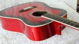 Guitare acoustique fondamentale de vente chaude (DGD100/RDS)