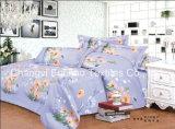 Lecho llano polivinílico/del algodón fijado/ropa de cama de las colecciones del hotel
