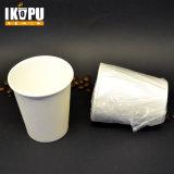Taza de papel de Eco Firendlypla con la tapa