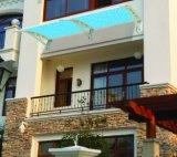 Moderner Wind-beständiger an der Wand befestigter Regen-Deckel für Balkon-Kabinendach