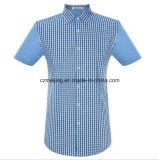 La chemise formelle estampée des hommes