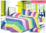 卸し売り工場綿材料キルトにするファブリック現代ベッドカバーの寝具の一定のベッド・カバーシートの女王か王または対または大型