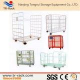 Faltbare logistische Tisch-Stahllaufkatze für Lager-Speicher