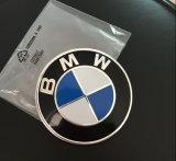 Emblème initial d'insigne de capot d'avant de logo de véhicule de la qualité 82mm pour la BMW
