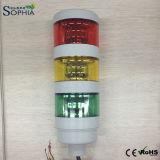 indicatori luminosi modulari della torretta del segnale di 70mm per il corpo di Whte di automazione industriale