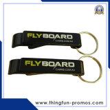 Keyring impresso personalizado do plástico do Keyring do metal do Keyring do abridor de frasco
