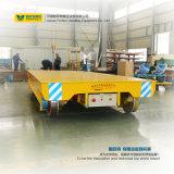 Автоматическая направленная материальная тележка перехода вагонетка рельса 10 тонн