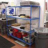 Hôtel Restaurant Équipement de cuisine commerciale Table de travail supérieure en acier inoxydable 304 #