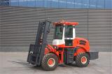 3500kg Rought Gelände-Dieselgabelstapler für armen Straßenzustand