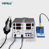 Yihua 853D+ 5A 3 в 1 алюминиевой станции Rework панели