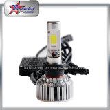 Bluetooth制御9004 9007高い内腔車のヘッドライトが付いている涼しいH4 H13 RGB LEDの二重ビームヘッドライト