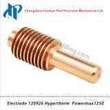 Electrode 120926 pour 1250 consommables de torche de coupe plasma 40-80A