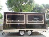 Il carrello mobile del camion degli alimenti a rapida preparazione da vendere può essere personalizzato