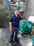Bomba de transferência de líquido corrosivo químico de alto fluxo