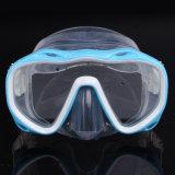 スキューバダイビング装置のシリコーンの水泳マスク