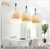 Lámpara colgante restaurante 3W-15W alta calidad de cerámica