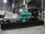 침묵하는 1125kVA/900kw 50Hz 미국 Googol 발전기 디젤 엔진