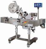 Máquina de etiquetas dobro de alta velocidade da luva da movimentação para frascos
