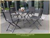 屋外の家具の折るアルミニウム表は余暇およびレストランのためにセットした