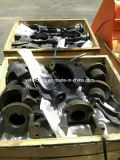 Garfo do tensor U do conjunto do cilindro do ajustador da trilha da máquina escavadora de Kato