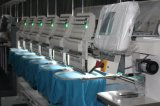 Fábrica de máquina automatizada 8 pistas del bordado del casquillo y de la camiseta Ho1508