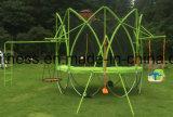 Im Freien runde Trampoline des neuesten Garten-2016 mit Ensclosure