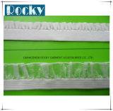 Webbing elástico da fita da fita dos acessórios do vestuário da forma para o roupa interior