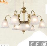 룸 낭만주의 꽃 모양 LED 펀던트 램프
