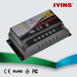 Controlador de carga solar 12V / 24V 10A / 20A / 30A PWM automática