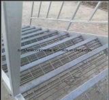 Escalera de acero galvanizada industrial usada alta calidad