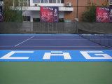 Superficie delle corti di tennis professionale/superficie facile del pavimento delle corti di tennis di impostazione