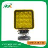 punto LED de 4inch 48W del carro del barco del coche de la lámpara 12V 24V de la luz del trabajo de camino que conduce a Ute