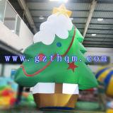 Раздувное напольное украшение рождества/выдвиженческая раздувная рождественская елка