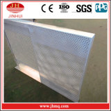 Diámetro perforado 3m m del orificio de la hoja de la cara doble para la partición de la pared