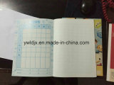 Processo feito sob encomenda do caderno do papel do Copybook do livro de exercício A4 do estudante da fonte A5