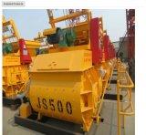 Mezclador concreto de la fuerza Js500, máquina hidráulica del mezclador concreto
