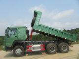 Тележка сброса Китая HOWO 371HP 6X4 с спрейером воды на тормозе для сбывания