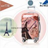 新しいデザインABS+PC旅行荷物袋のトロリー荷物かスーツケース